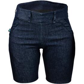 Biehler Gravel Pattern Shorts Mujer, azul